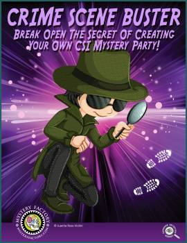Crime Scene Mystery Game tn