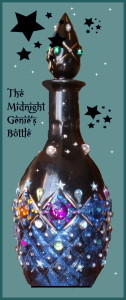 Midnight Genie Bottle