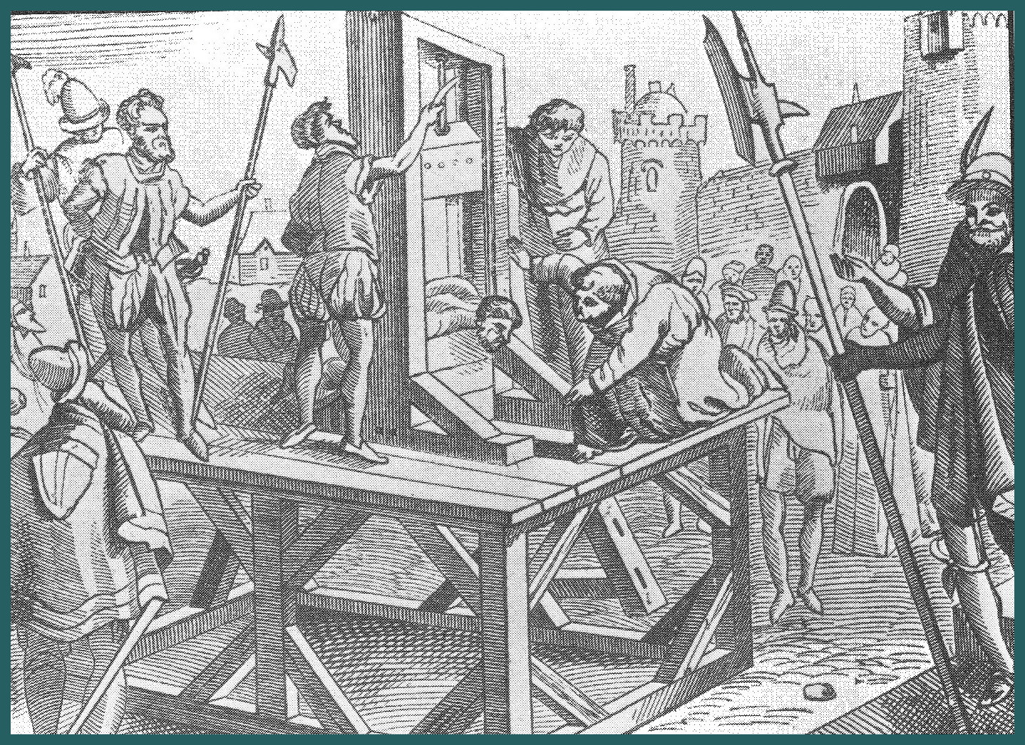 guillotine history